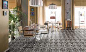 Segni Terrazzo porcelain tile
