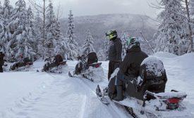 NFA snowmobile tour