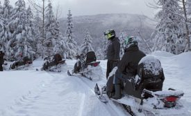 NFA snowmobile tour