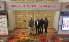 Ross Langhorne, John Finch, Todd Bircher, Abby Reinhard at Fuse Annual Conference