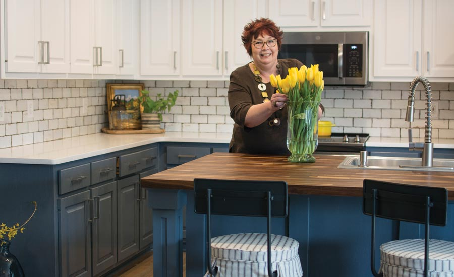 Pam Rainey's kitchen remodel