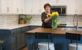 Pam Rainey's kitchen remodel