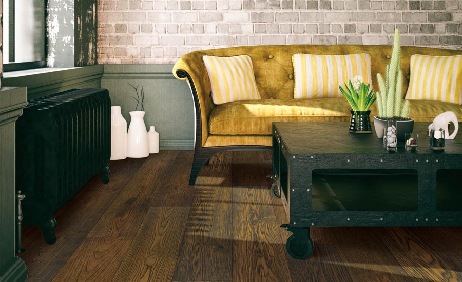 Coretec Wood floors in Afton Hickory