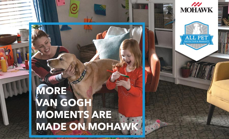 "Mohawk's ""More Moments"" campaign"