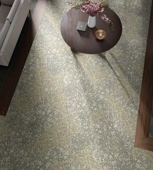 Tarkett's Garden Walk carpet collection
