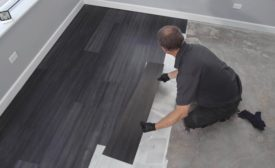 Resolute flooring adhesive