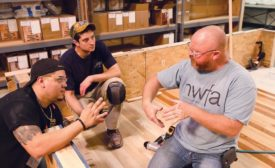 NWFA conducts flooring installation training
