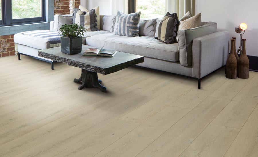 Karastan's BelleLuxe engineered wood flooring