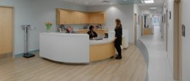 healthcare flooring installation projects
