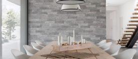 Brique glazed porcelain tile by Emser