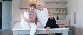 Kelly Kole and Joanne Kandrac of Kandrac & Kole Interior Design