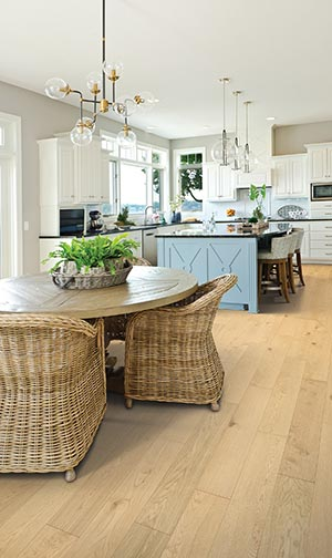 Välinge hardened wood floor