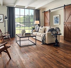 Hallmark's True hardwood flooring