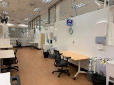 COVID-19 rapid-response facility