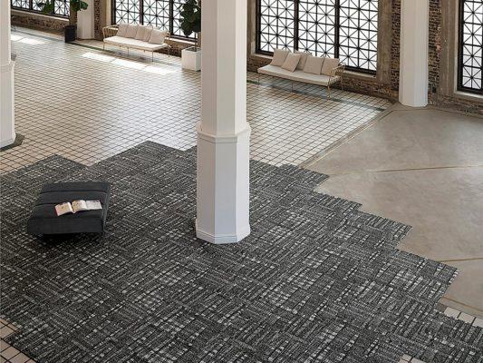 Allegro carpet tile by Bentley