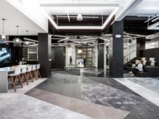 Tarkett's Atelier flagship product showroom and co-working space