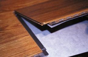 The Glueless Laminate Explosion An, Mannington Icore Waterproof Laminate Flooring