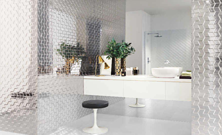 Florida Tile Glamour Bathroom