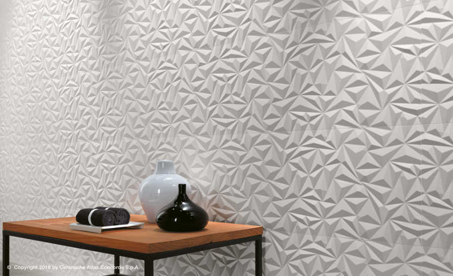 Atlas Concorde Introduces 3d Wall Design Collection 2017