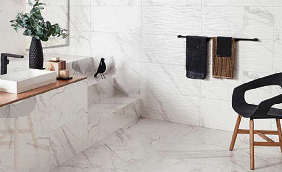 Calacatta Marble Captured In Florida Tiles Precious Collection