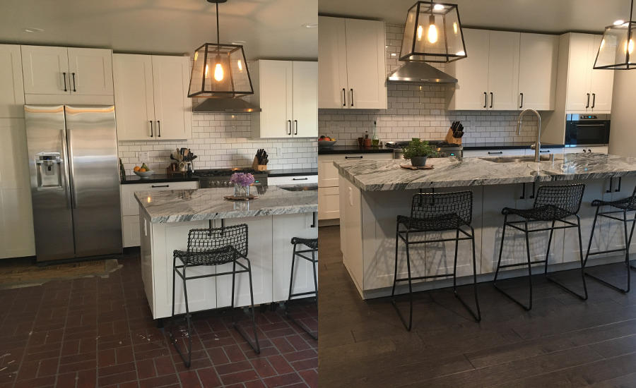 Shaw floors surprises lucky houzz user 2017 05 19 for Houzz magazine