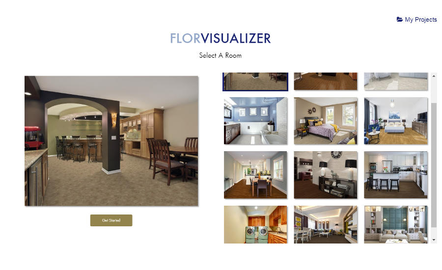 Metroflor launches online floor visualizer tool 2017 07 for Design your home online with room visualizer