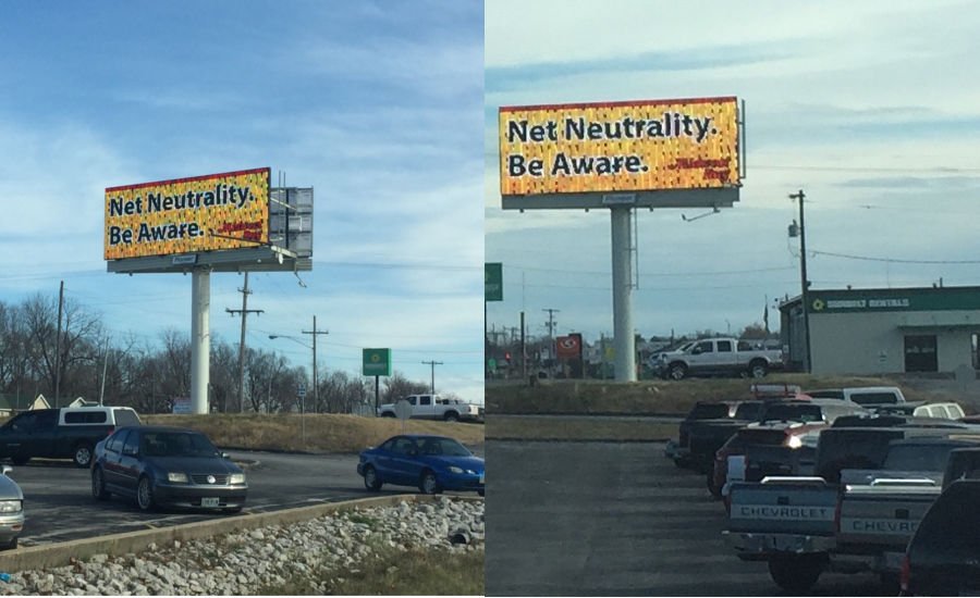 Midwest Rug Raises Awareness About Net Neutrality 2017