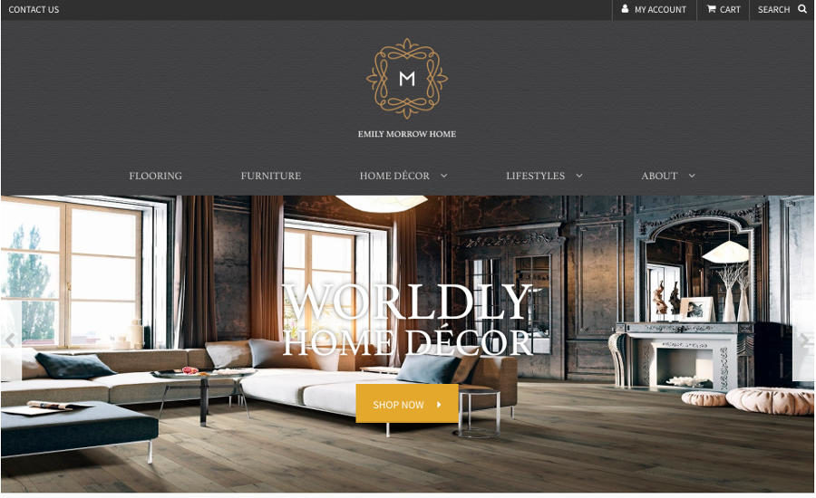 Emily Morrow Home Launches Home Decor Site 2018 01 26