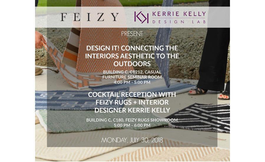 Feizy Rugs to Host Designer Kerrie Kelly at Las Vegas Market