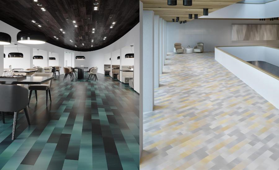 Manning Commercial Vinyl Tile Aerospace Co Flooring