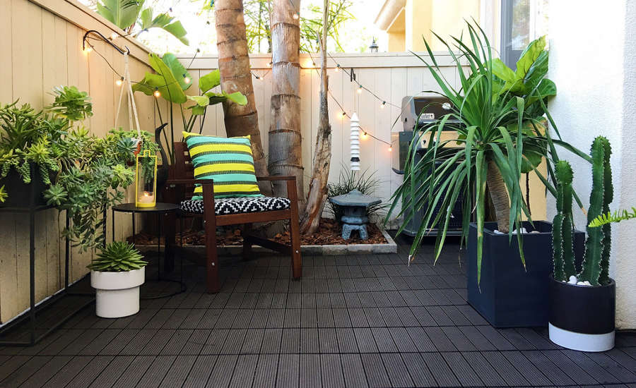 Outdoor flooring adds extra room for summer celebrations 2018 07