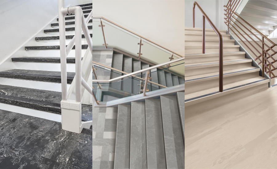 Tarkett Redesigns Rubber Stair Treads