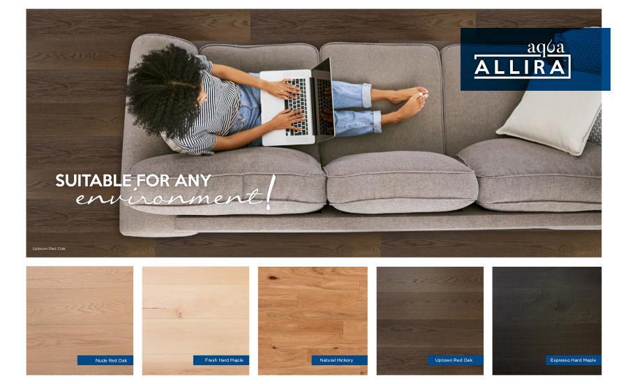 Times Flooring Introduces Aqua Allira
