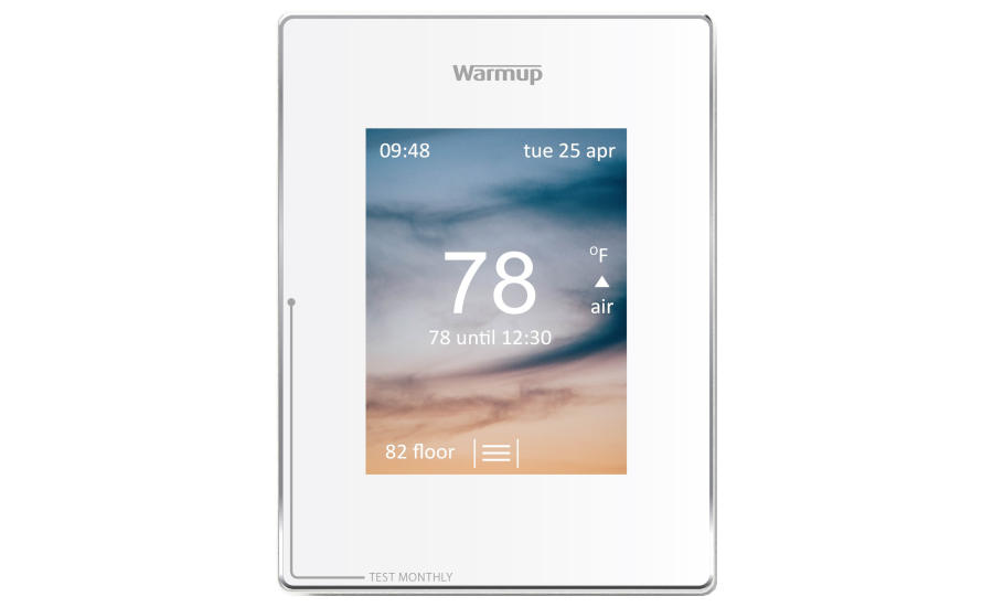 Warmup Announces A Vertical 4ie Thermostat 2019 06 03