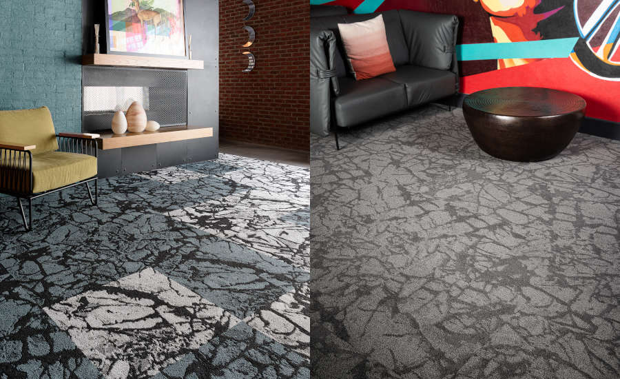 J J Flooring Group Introduces Fire Ice A New Carpet Tile