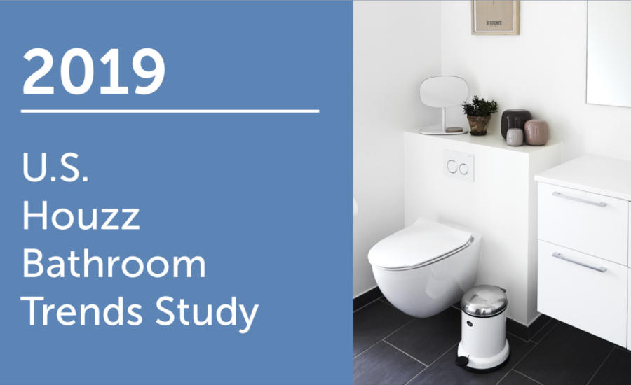 Groovy Showers Reign In Master Bathroom Remodels Says Houzz Study Pabps2019 Chair Design Images Pabps2019Com