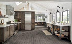 AHF's Hydropel engineered hardwood flooring