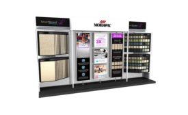 SmartStrand Silk merchandising display