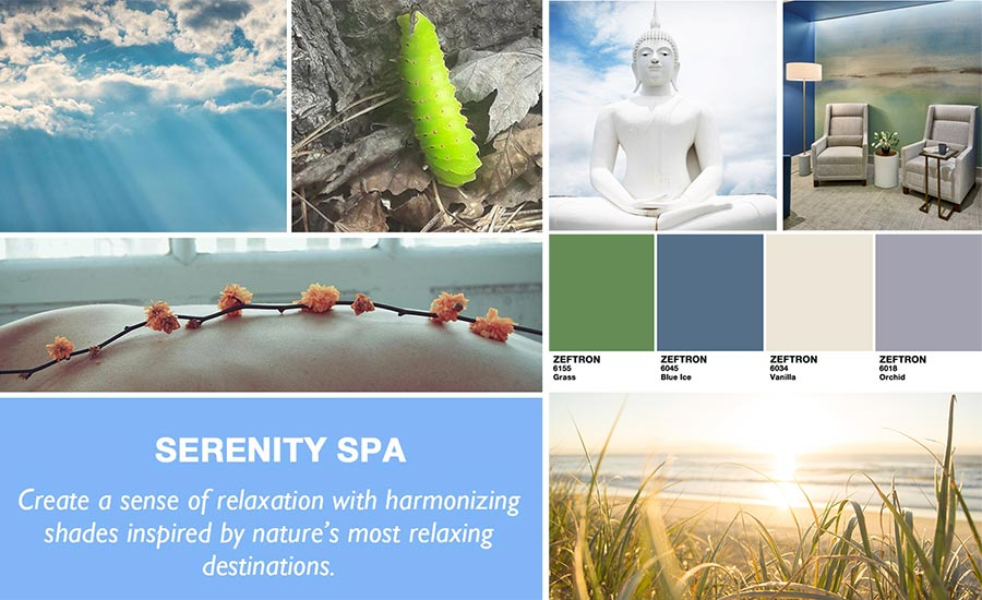 Serenity Spa collection