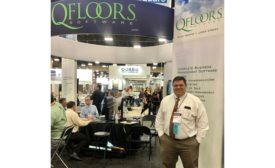QFloors' booth at TISE