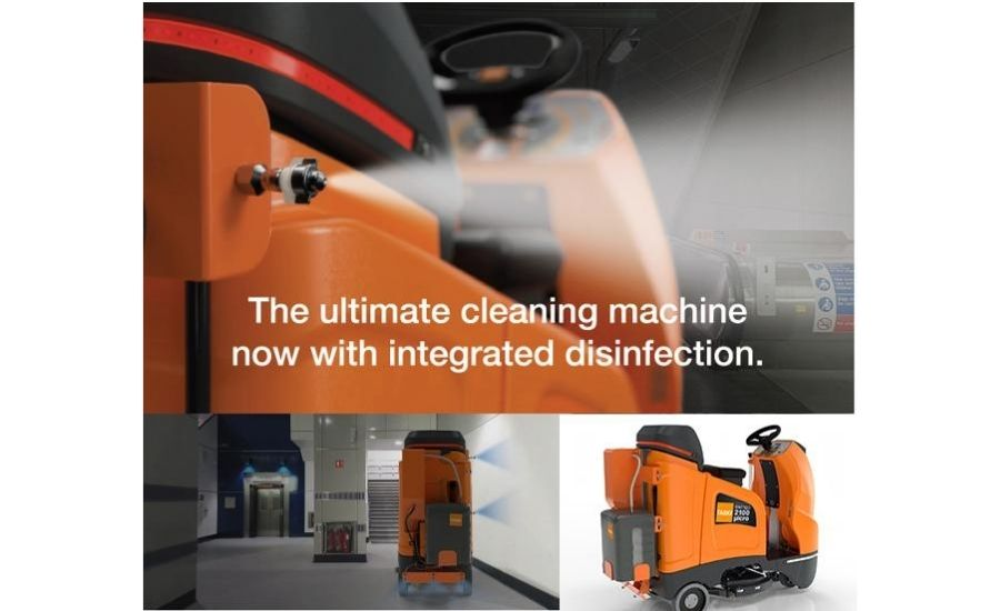 Taski Launches Floor Disinfecting Technology