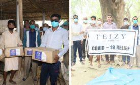 Feizy Donates 150,000