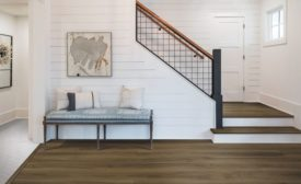 Mohawk Performance Accessories showcased in a living room and stair installation