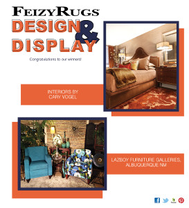 Feizy Rugs Announces Design And Display Contest Winners