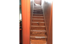 renovated stairs