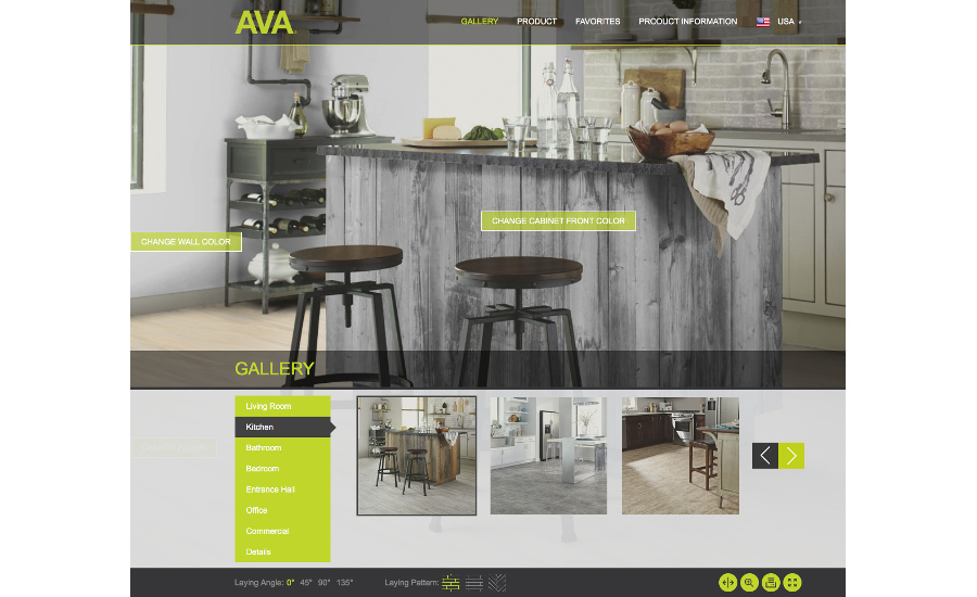 Novalis adds room visualizer to ava site 2016 03 22 for Room visualizer