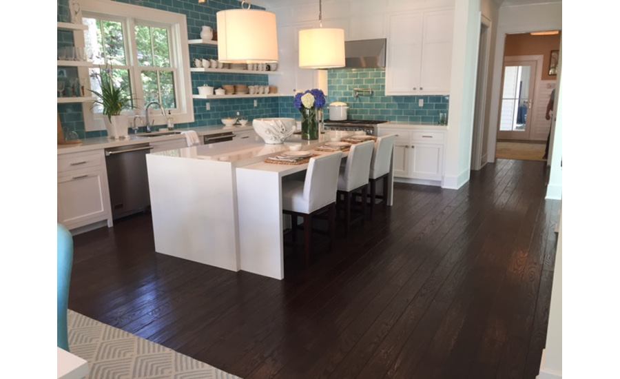 armstrong flooring featured in coastal living hamptons showhouse