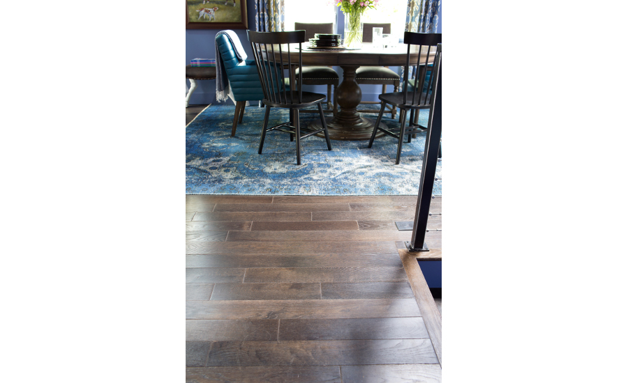 Mullican Provided Oak Granite Solid Hardwood Flooring From The Company S Williamsburg Collection For Urban Oasis Giveaway