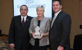 Brenda Edwards receives Pioneer Award