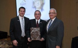 G.K. Naquin receives Migliore Award